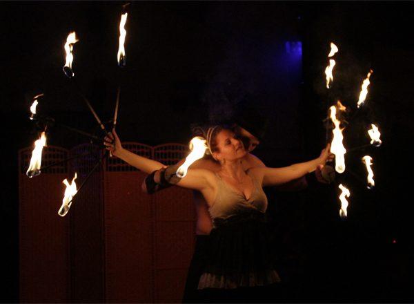 Feuershow aus Sachsen-Anhalt